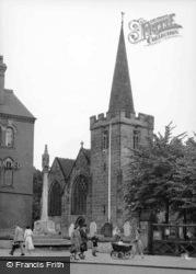 St Lawrence's Church c.1950, Long Eaton