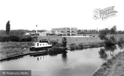 The Canal And School c.1965, Long Eaton