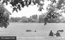 Trent College, Cricket Field c.1955, Long Eaton