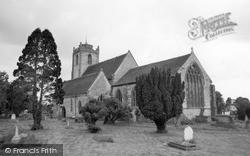 Long Itchington, Holy Trinity Church 1968