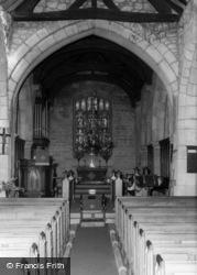 Church Interior c.1960, Long Preston