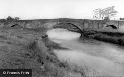 The Bridge c.1960, Long Preston