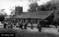 The Church c.1960, Long Preston