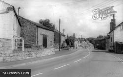 The Main Road c.1960, Long Preston