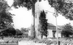 St Mary's Church c.1965, Long Stratton
