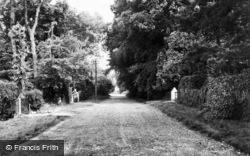 Fawkham Avenue c.1960, Longfield Hill