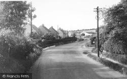 Fawkham Road c.1960, Longfield Hill