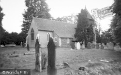The Church Of St Mary Magdalene c.1960, Longfield Hill