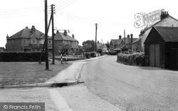 The Village c.1960, Longfield Hill
