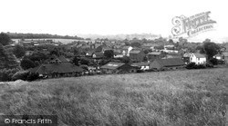 View From The Gallops c.1960, Longfield Hill