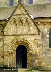 Brinkburn Priory North Entrance 1990, Longframlington