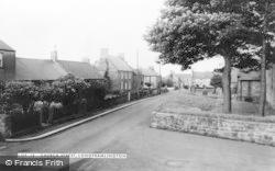 Longframlington, Church Street c.1960