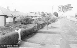 Longframlington, Rothbury Road c.1960