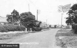 Longhorsley, The Cross Roads c.1960