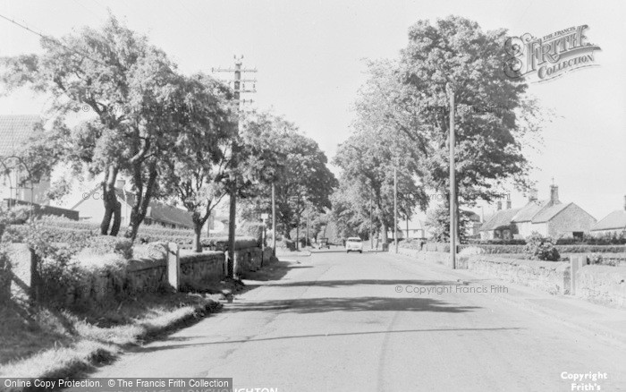 Photo of Longhoughton, The Village c.1955