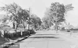 Longhoughton, The Village c.1955