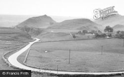 Chrome And Park Hills c.1955, Longnor