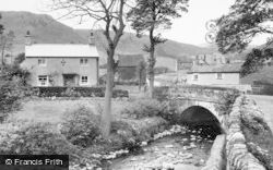 Longnor, Glutton Bridge c.1955