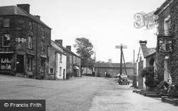 Longnor, Market Place And Post Office c.1955