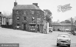 The Co-Op, Market Place c.1955, Longnor