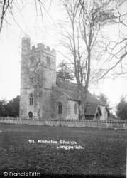 Longparish, St Nicholas Church c.1930