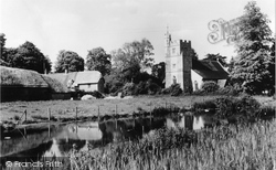Longparish, St Nicholas Church c.1960