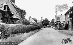 Longparish, The Main Road c.1960