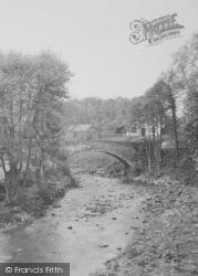 Longridge, Brock Mill c.1950