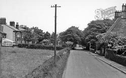 Longridge, Lower Lane c.1955