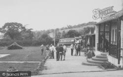 Longridge, Outside Hothersall Boys Camp c.1955