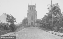 Longridge, St Paul's Church And Vicarage c.1955