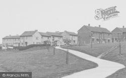 Longridge, St Paul's Housing Estate c.1955