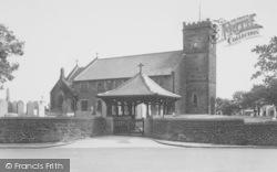Longridge, The Parish Church c.1955