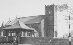 Longridge, The Parish Church Of St Lawrence c.1965
