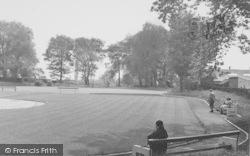 Longridge, Townley Park Bowling Green c.1955