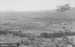 Longridge, View From Jeffrey Hill c.1955
