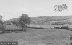 Longridge, View Of Jeffrey Hill From Chipping Lane c.1960