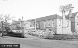 Longton, Hospital c.1955