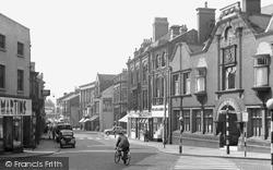 Longton, Market Street c.1955