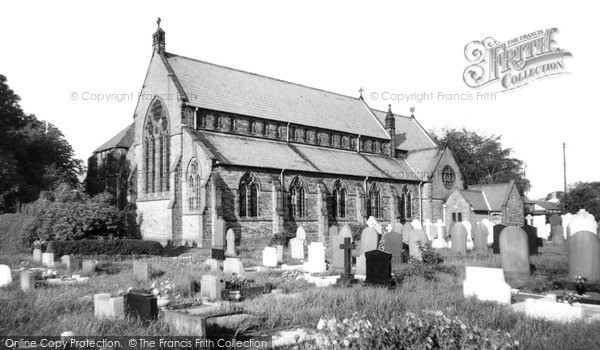 Longton, Parish Church c1960