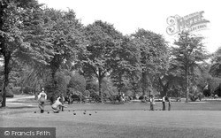 Longton, The Bowling Green c.1955