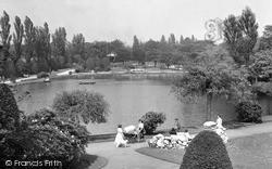 Longton, The Lake c.1955