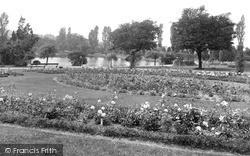 Longton, The Park 1940