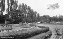 Longton, The Park c.1955