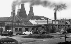 Longton, The Pottery Kilns 1955