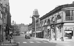 Longton, The Strand c.1955