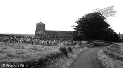 Longtown, Church Of St Michael And All Angels c.1955