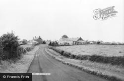 Longtown, Church Road c.1965