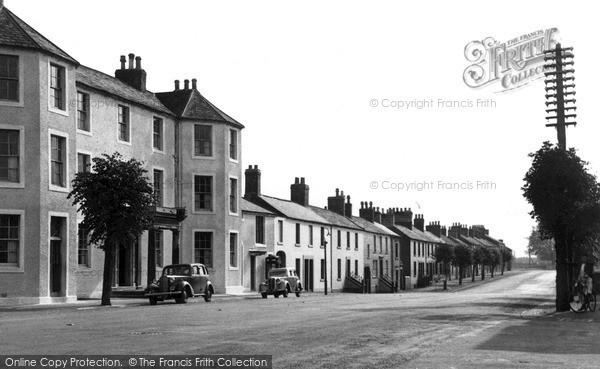 Photo of Longtown, High Street c1950