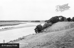 Longtown, The River c.1955